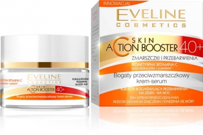 Nowość Eveline krem-serum 40+ Skin ACtion Booster