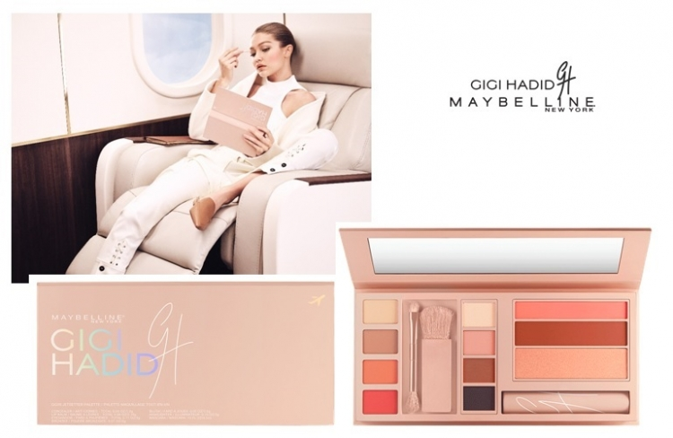 Nowość The Jetsetter Makeup Pallete Gigi Hadid x Maybelline