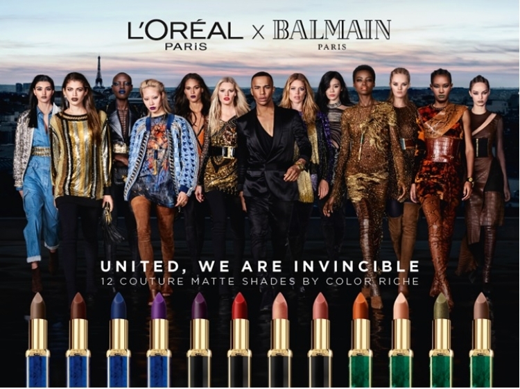 L'Oréal Paris x Balmain Paris