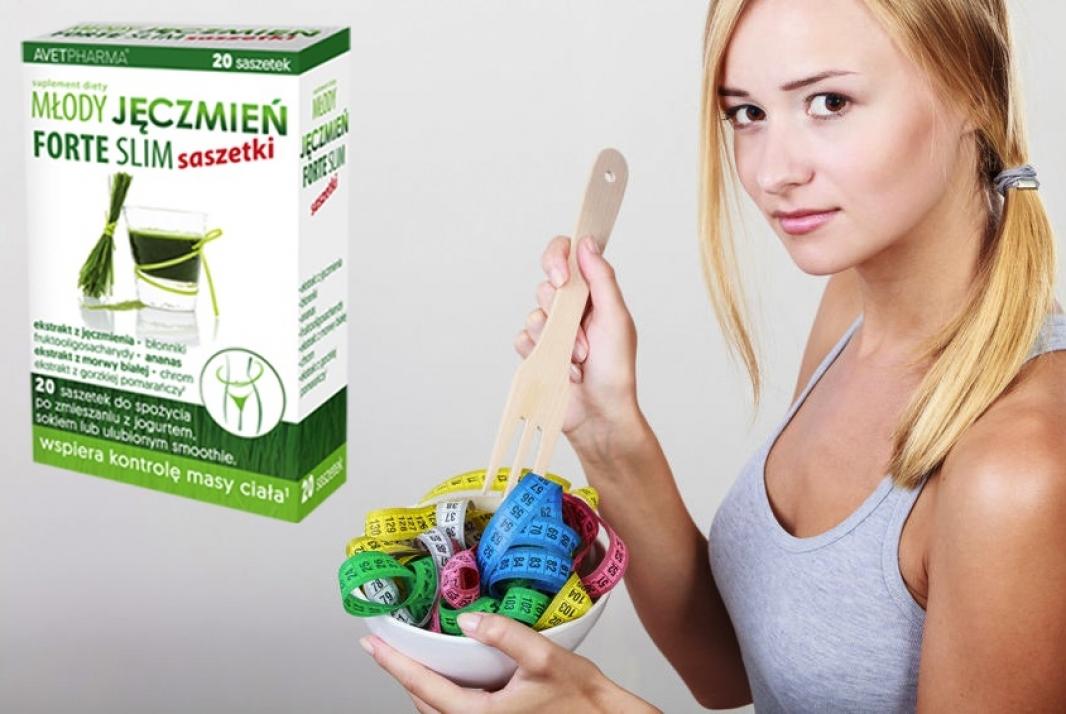 zielony jęczmień kalorie