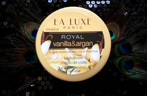 Masło Royal vanilla & argan La Luxe Paris