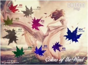 "Jesienna paletka od ChiodoPRO ""Colors of the Wind"""