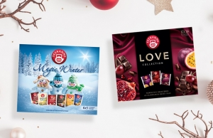 Kolekcje herbat Teekanne Magic Winter i Love